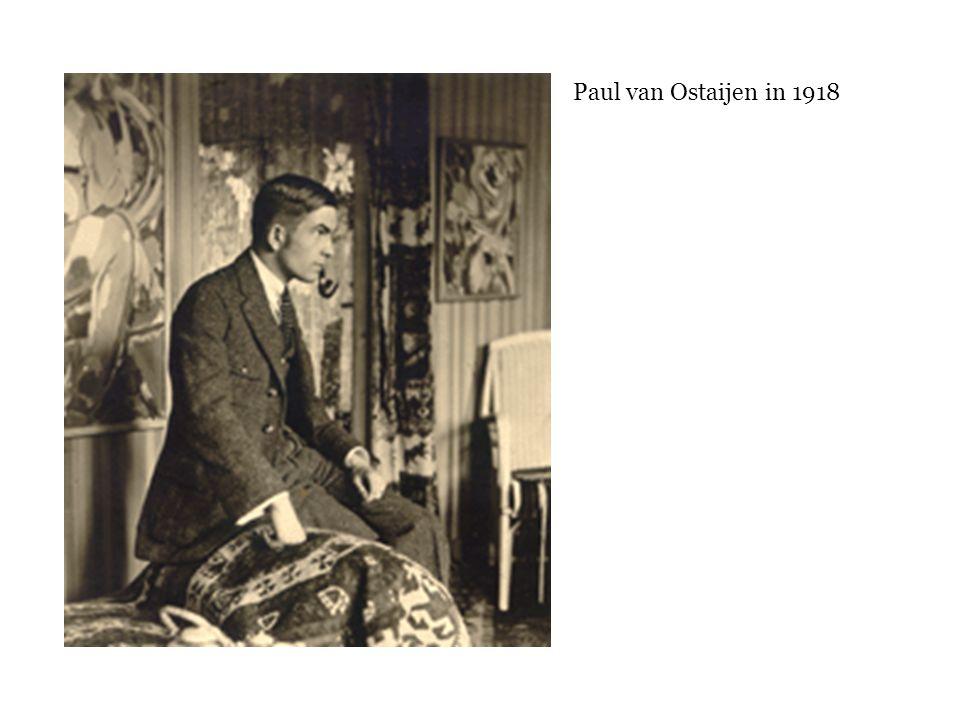 Paul van Ostaijen in 1918