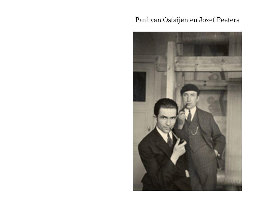Paul van Ostaijen en Jozef Peeters