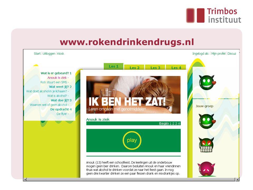 www.rokendrinkendrugs.nl
