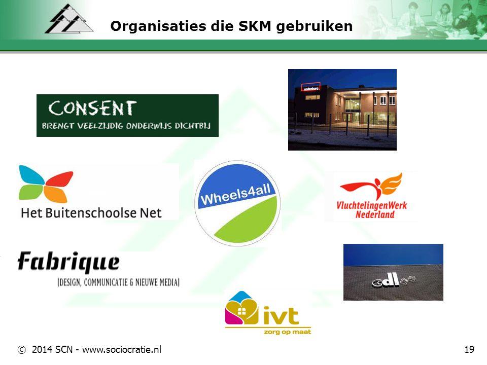 © 2014 SCN - www.sociocratie.nl Ons leven is een samenstel van dynamische processen 20