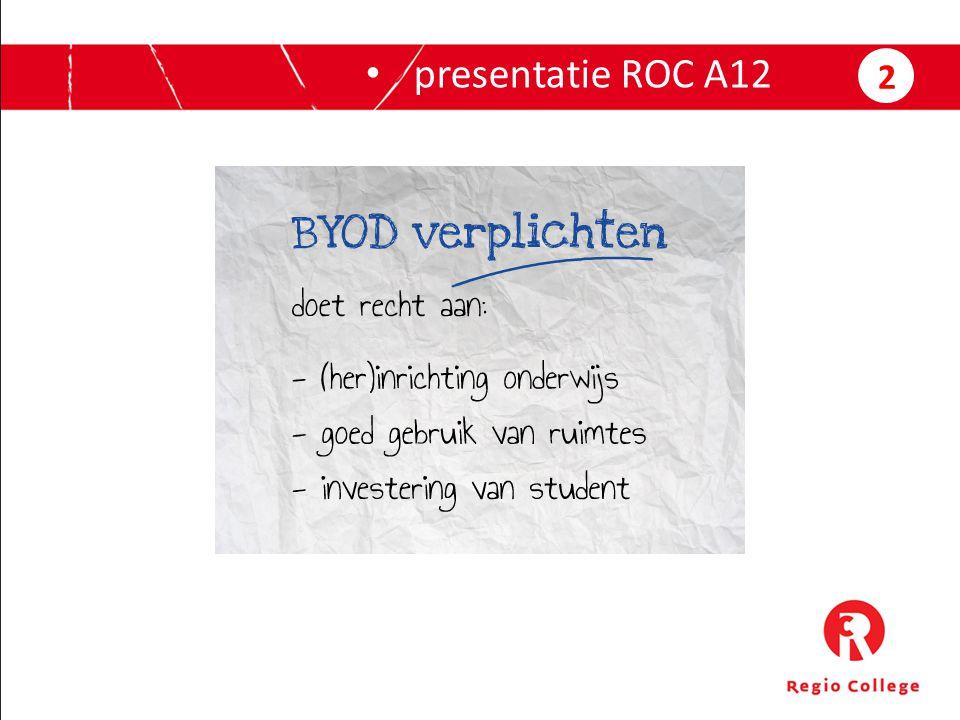 presentatie ROC A12 2