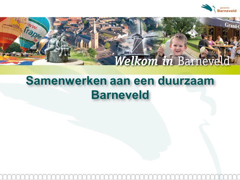 Samenwerken aan een duurzaam Barneveld