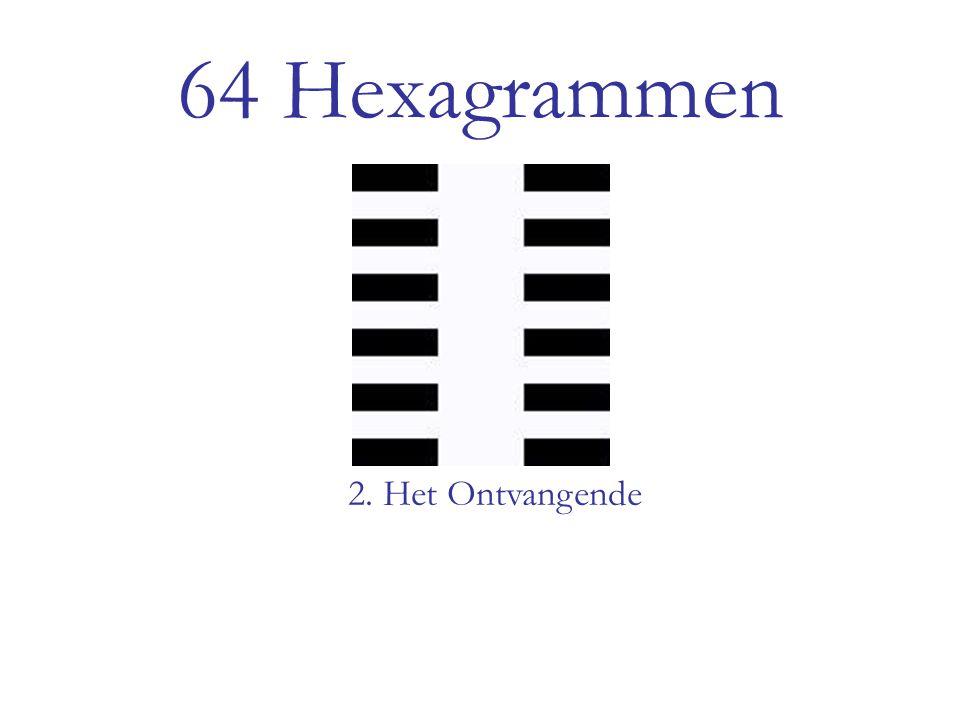64 Hexagrammen 2. Het Ontvangende