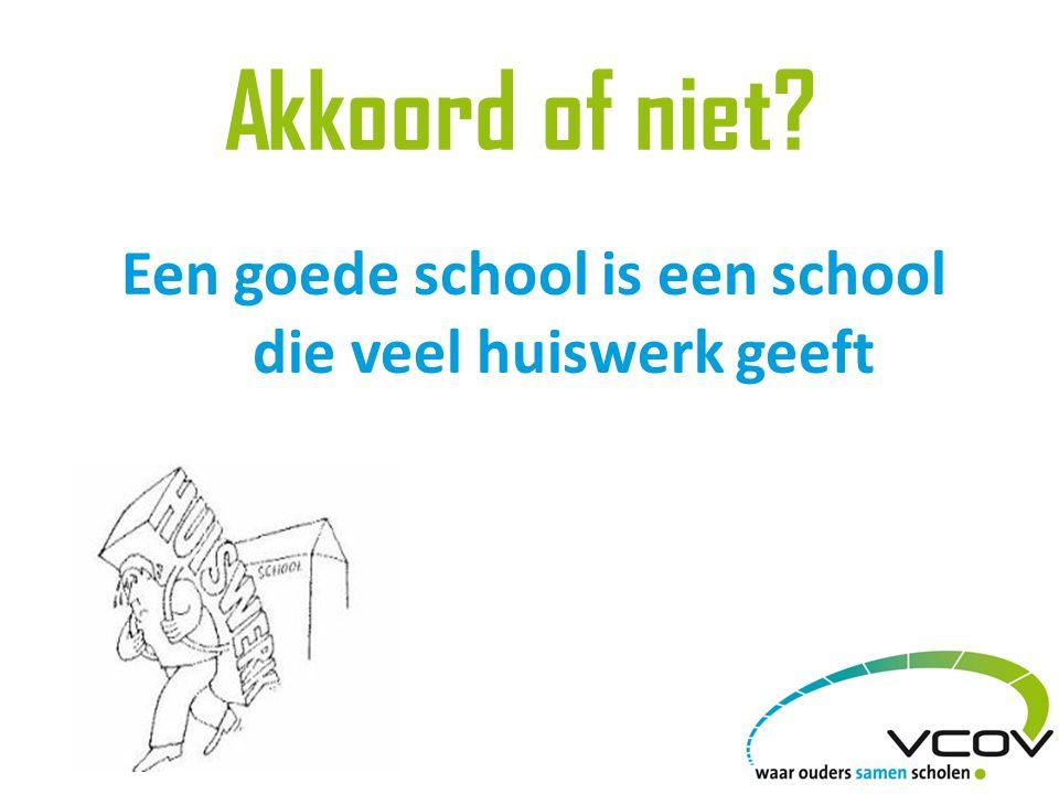 20% van de ouders wil meer huiswerk Vlaanderen