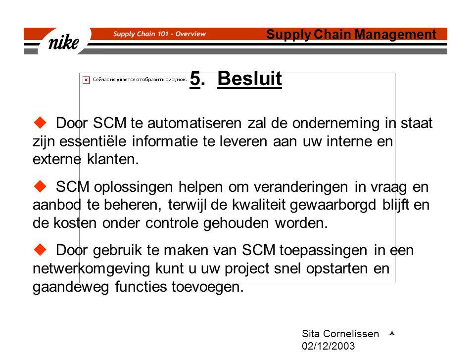 Sita Cornelissen 02/12/2003 5.
