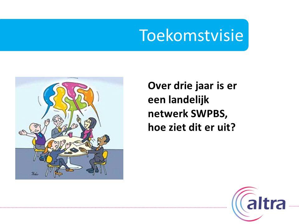 Toekomstvisie Over drie jaar is er een landelijk netwerk SWPBS, hoe ziet dit er uit?