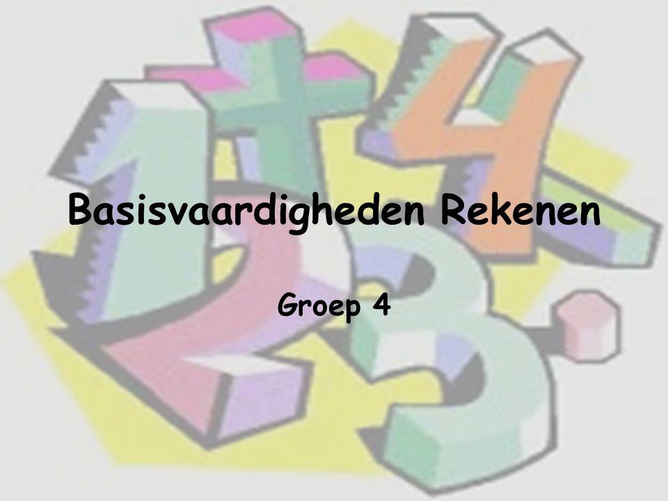 Basisvaardigheden Rekenen Groep 4