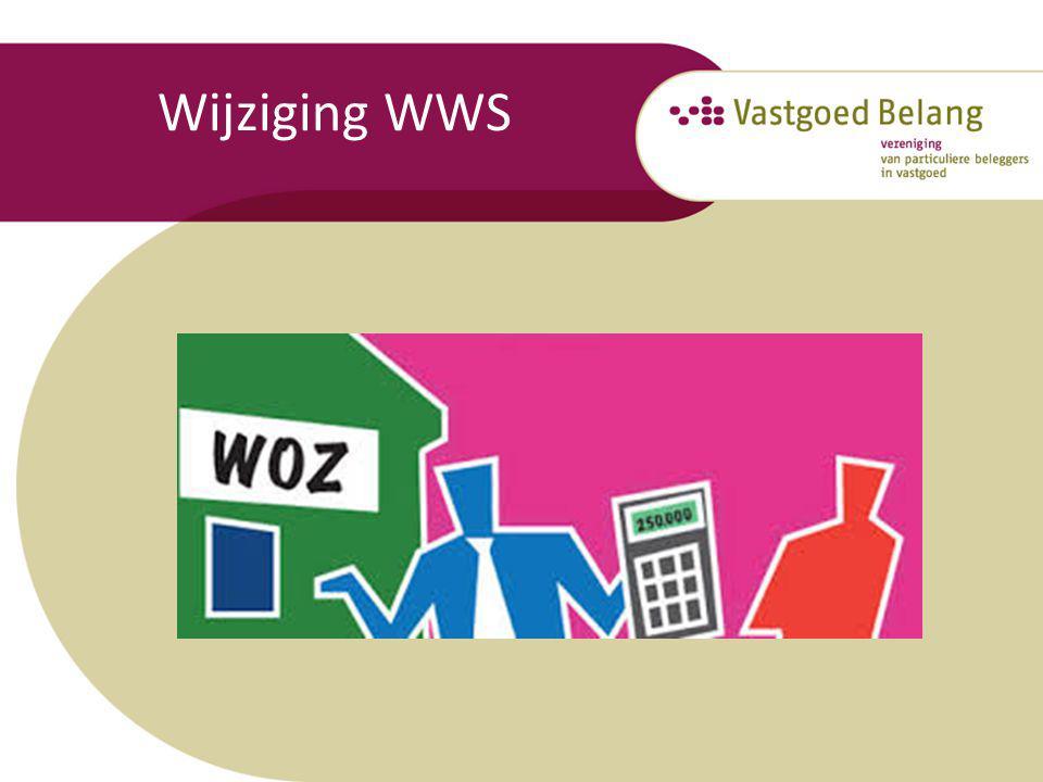 Wijziging WWS