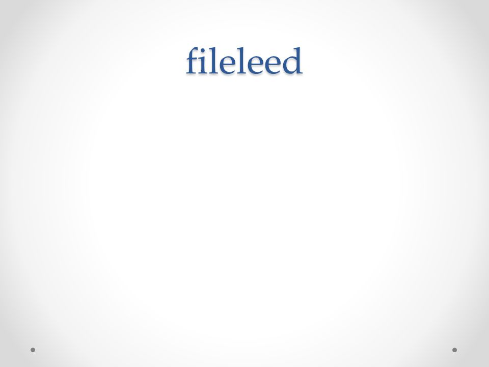 fileleed