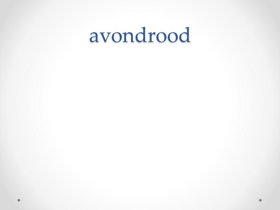 avondrood