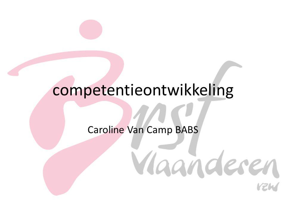 competentieontwikkeling Caroline Van Camp BABS