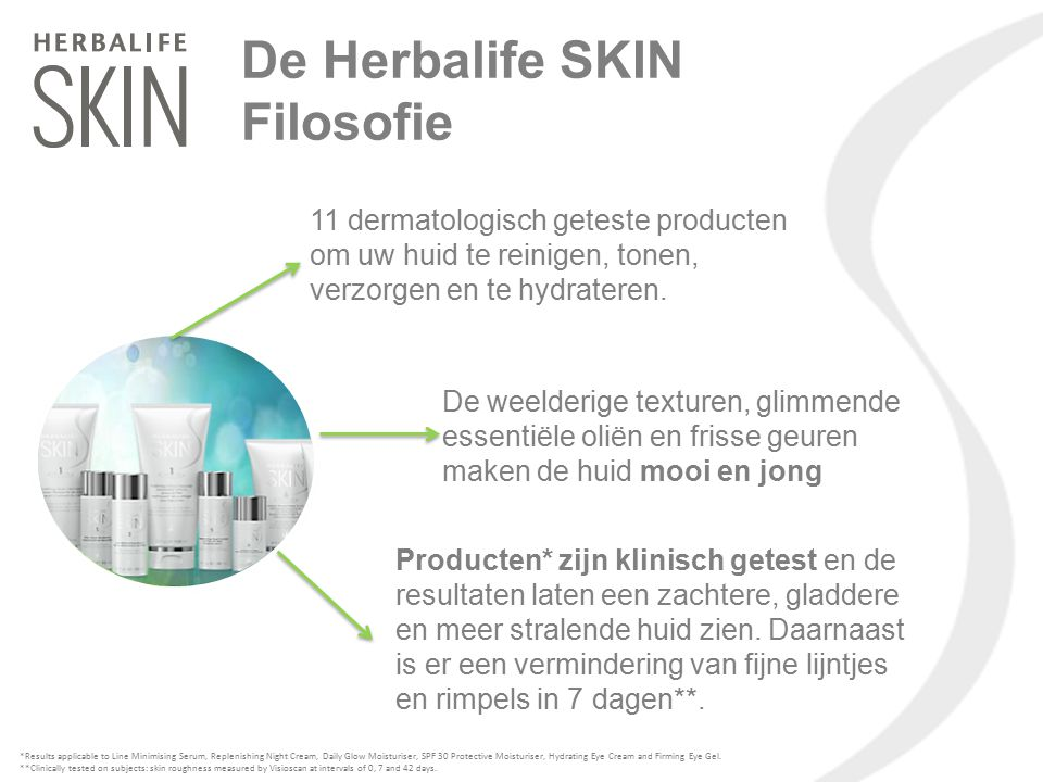 Advanced Product Kit = Het Basic programma plus: Lijn Minimaliserend Serum, Verstevigende Ooggel, Hydraterende Oogcrème