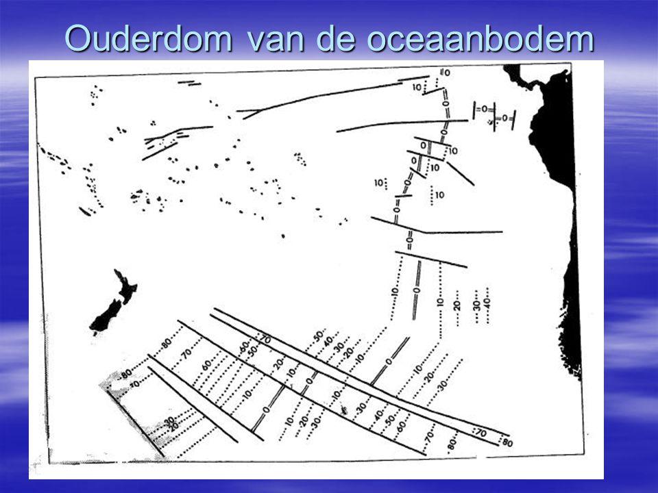 Ouderdom van de oceaanbodem