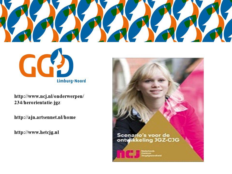 http://www.ncj.nl/onderwerpen/ 234/herorientatie-jgz http://ajn.artsennet.nl/home http://www.hetcjg.nl