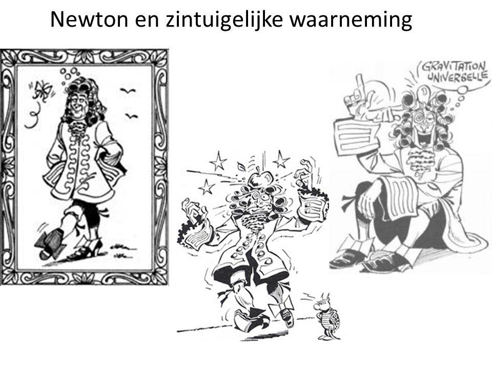 Newton en zintuigelijke waarneming