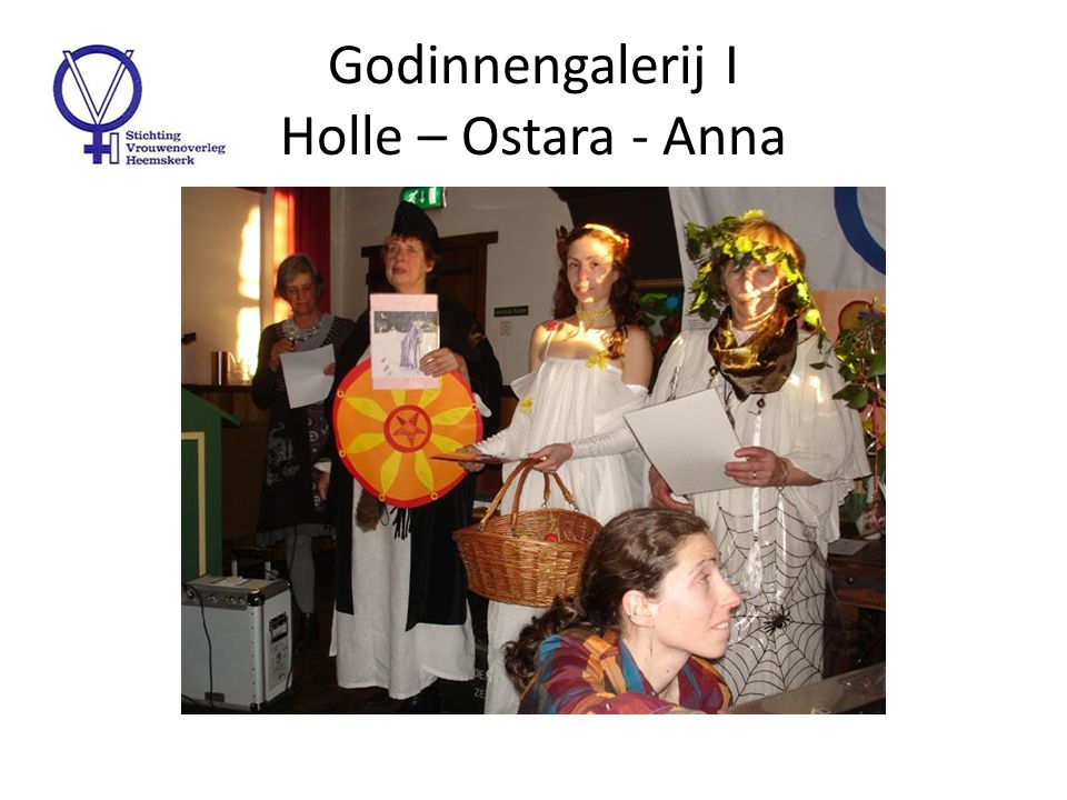 Godinnengalerij II Anna - Flora