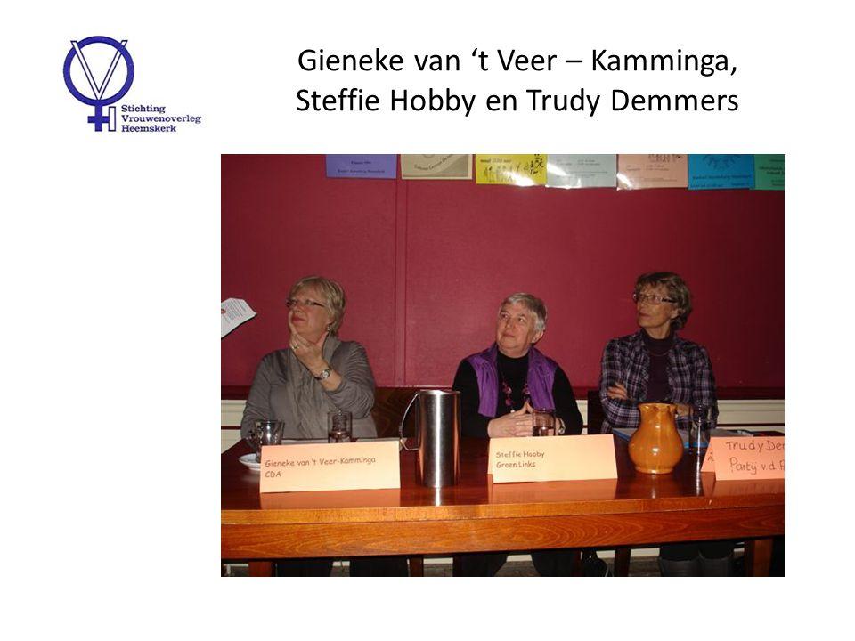 Aandacht voor het Forum 'Wat denken de vrouwelijke politici van nu over de onderwerpen van toen'