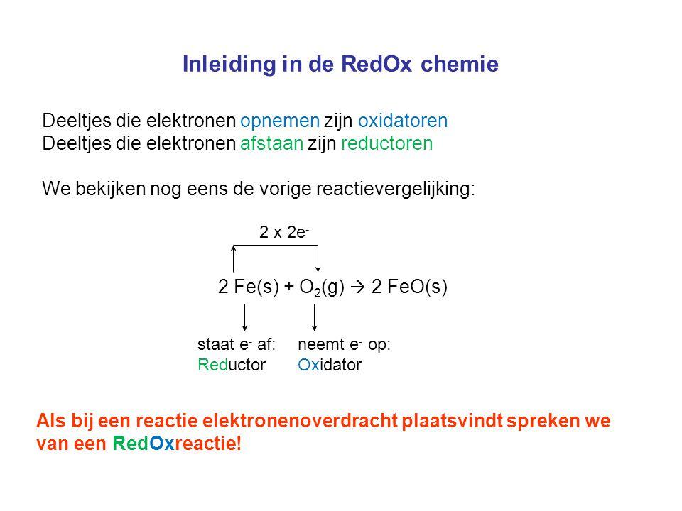 25 Elektrochemische Cel Hoe stromen de elektronen?