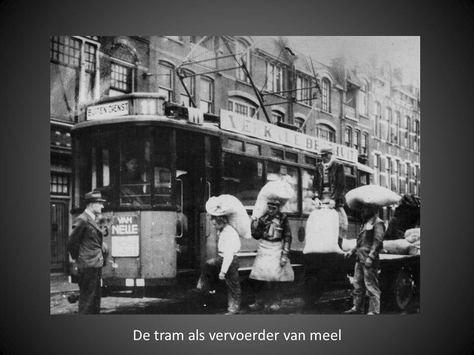 De tram als vervoerder van meel