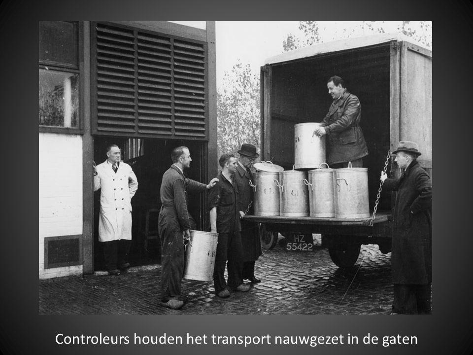 Vervoer van de gaarkeuken naar de uitdeelposten