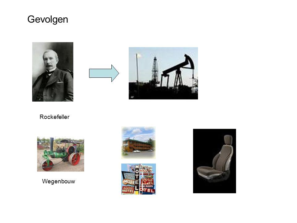 Gevolgen Rockefeller Wegenbouw