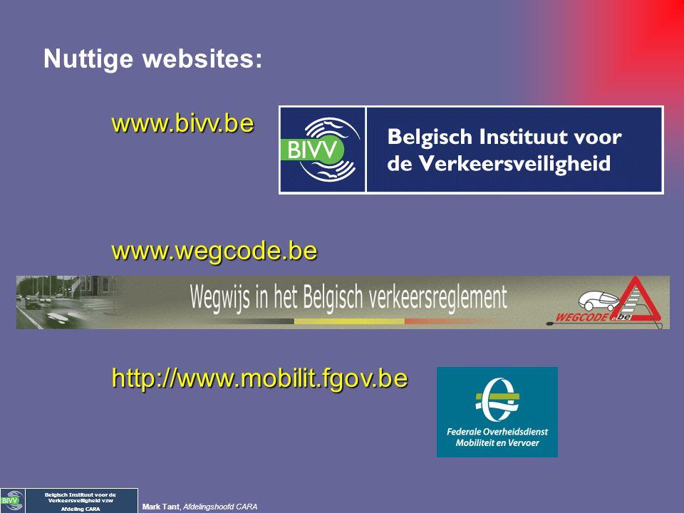 Belgisch Instituut voor de Verkeersveiligheid vzw Afdeling CARA Mark Tant, Afdelingshoofd CARA Mobiliteit: de auto openbaar/betaald vervoer familie en