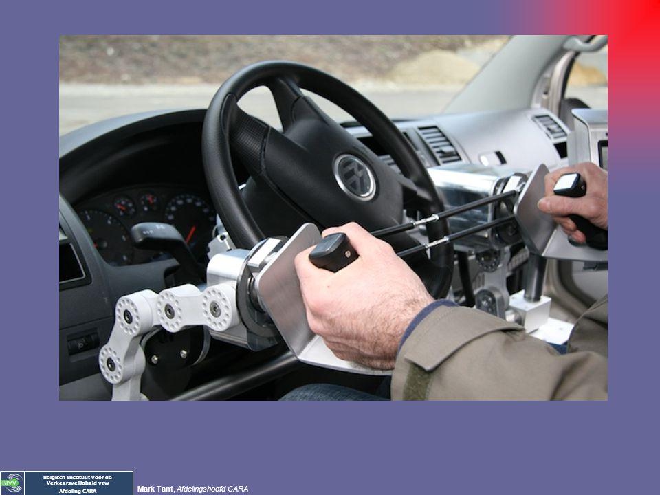 Belgisch Instituut voor de Verkeersveiligheid vzw Afdeling CARA Mark Tant, Afdelingshoofd CARA