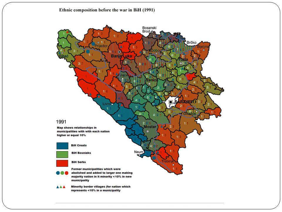 Historische context Disintegratie Socialistische Federale Republiek Joegoslavië (1991-1995) Bosnische oorlog (1992-1995) Oorlogsmisdaden: etnische zuivering, genocide, verkrachting Hoofdrolspelers Slobodan Milošević (Serviër), Radovan Karadžić en Ratko Mladić (Bosnische Serviërs) Alija Izetbegović (Bosniër – Bosnische moslim/Bosniak) Franjo Tudjman (Kroaat) Verenigde Naties – blauwhelmen Joegoslavië-tribunaal (Den Haag)