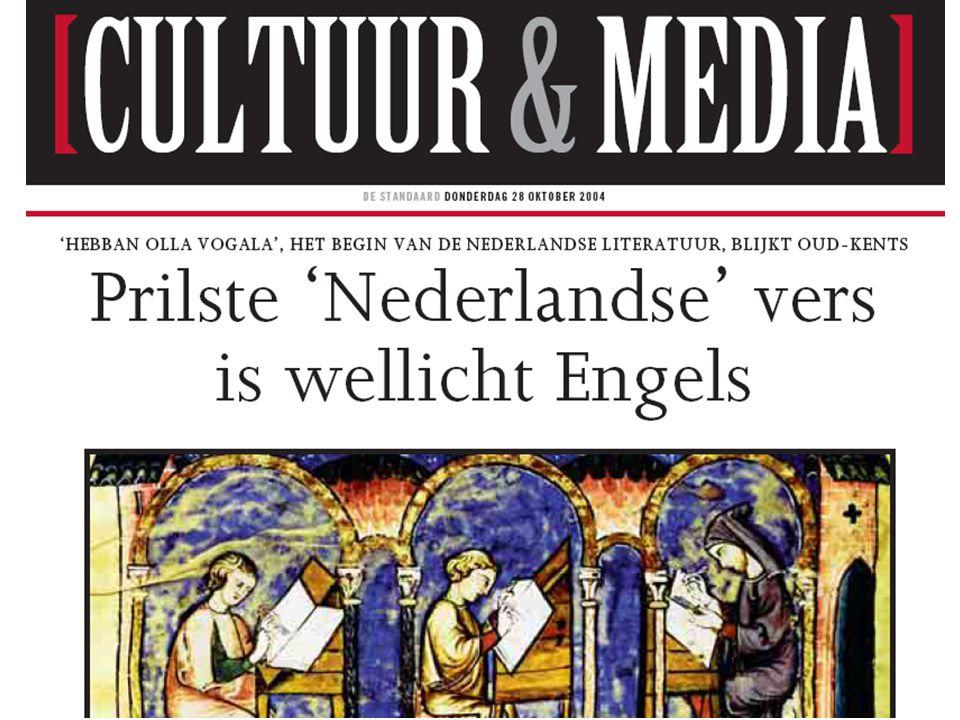 Geschiedenis van het Nederlands  Hoofdstuk: Duistere eeuwen 9.