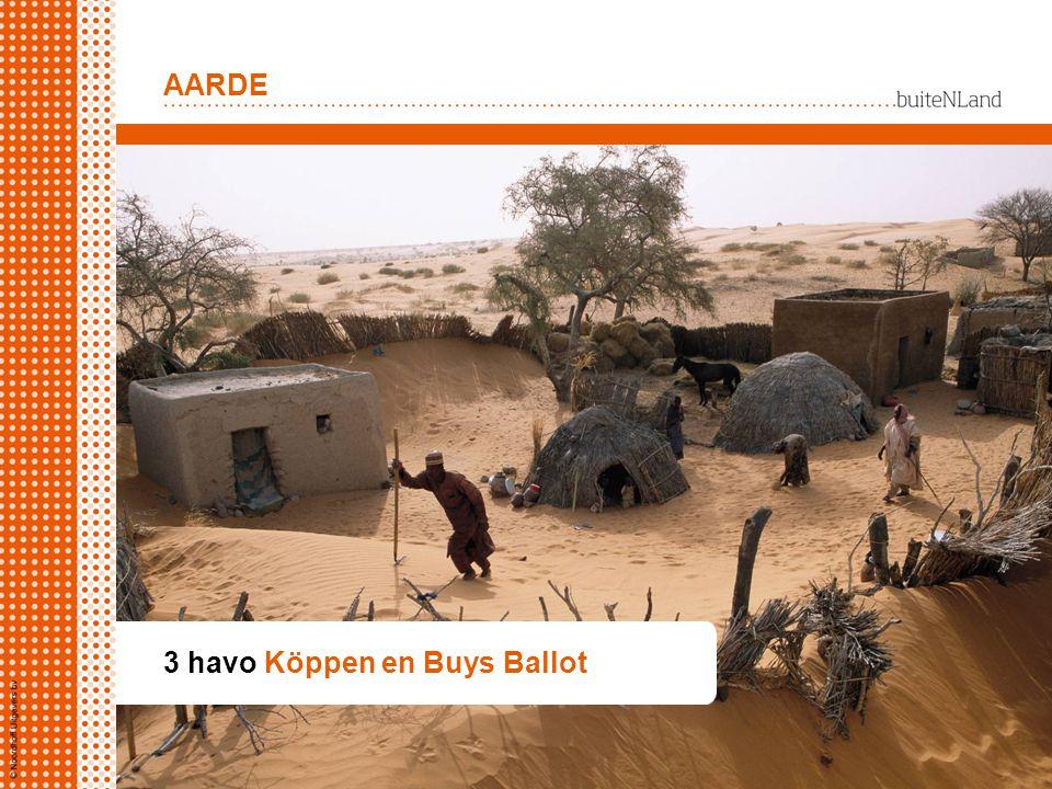 AARDE 3 havo Köppen en Buys Ballot