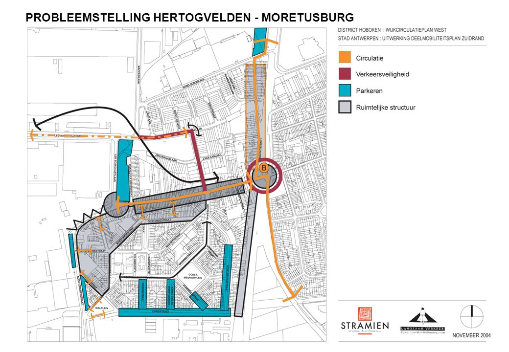 PROBLEEMSTELLING HERTOGVELDEN - MORETUSBURG