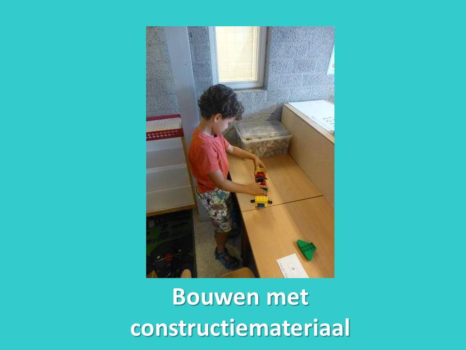 Bouwen met constructiemateriaal