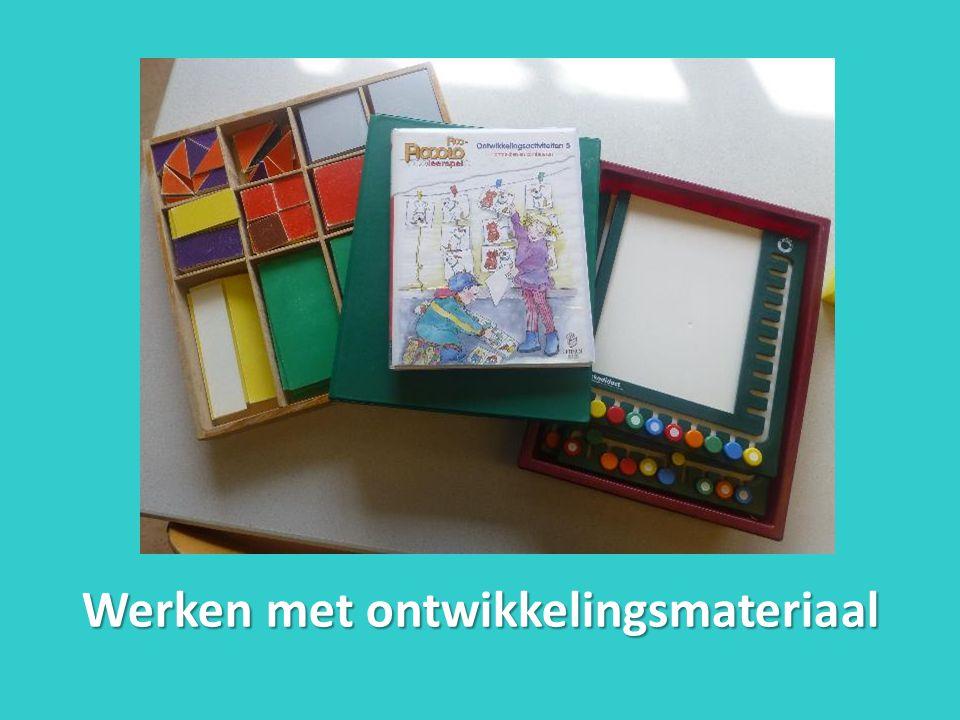 Werken met ontwikkelingsmateriaal