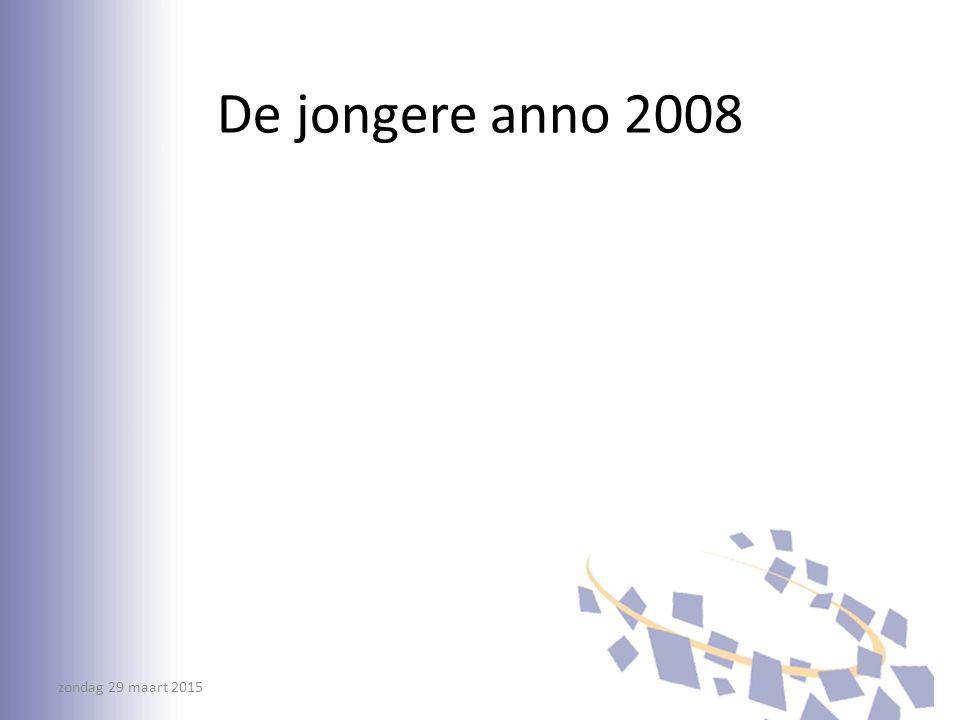 De jongere anno 2008