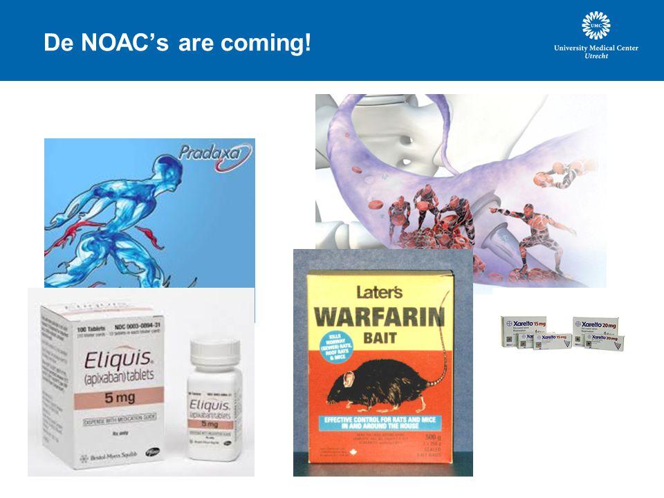 De NOAC's are coming!