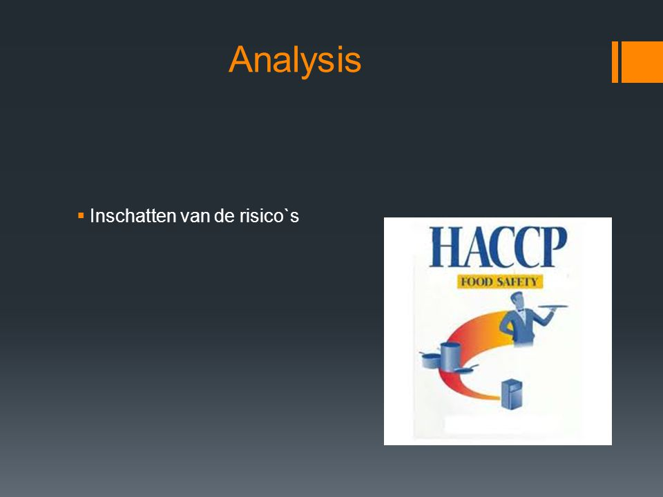 Analysis  Inschatten van de risico`s