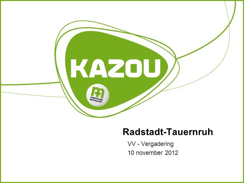 Radstadt-Tauernruh VV - Vergadering 10 november 2012