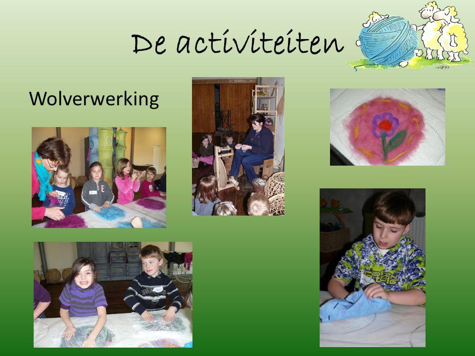 De activiteiten Wolverwerking