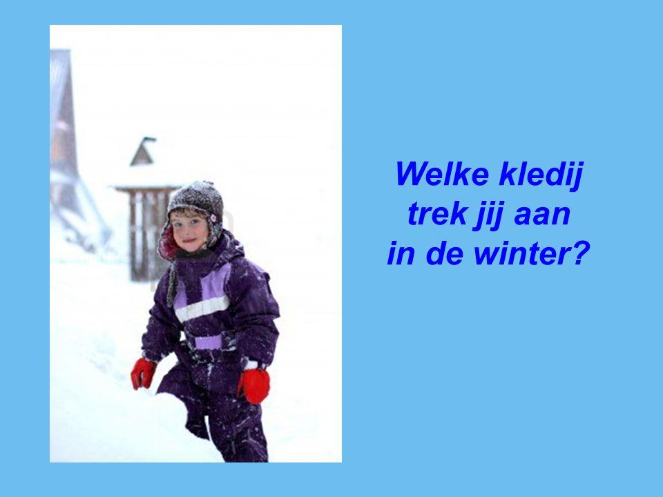 Wat speel jij graag in de winter?