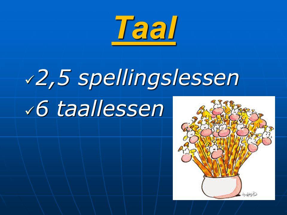 Spelling = vaste structuur Les 1: voorstelling, presentatie nieuw woordpakket m.b.v.
