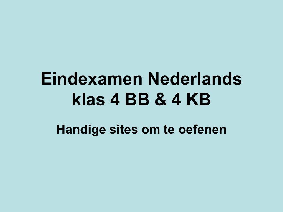 1 3 2 1 = www.examenblad.nl 2  vmbo KB 3  vmbo BB 1.Ga naar: www.examenblad.nl (pijl 1)www.examenblad.nl 2.Kijk in het horizontale menu bij vmbo KB (pijl 2) of bij vmbo BB (pijl 3).