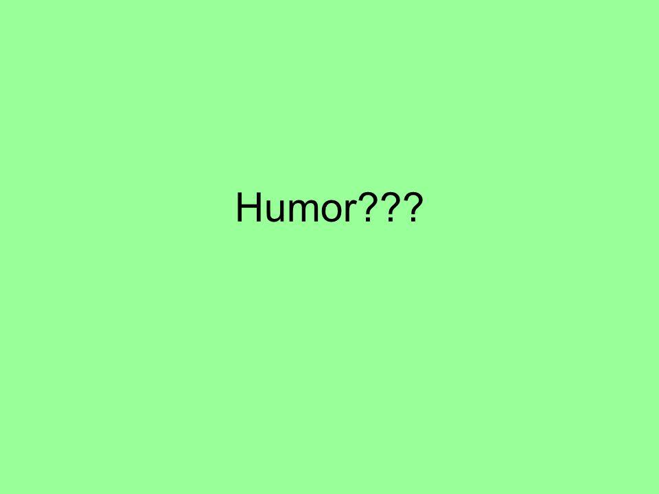 Humor???