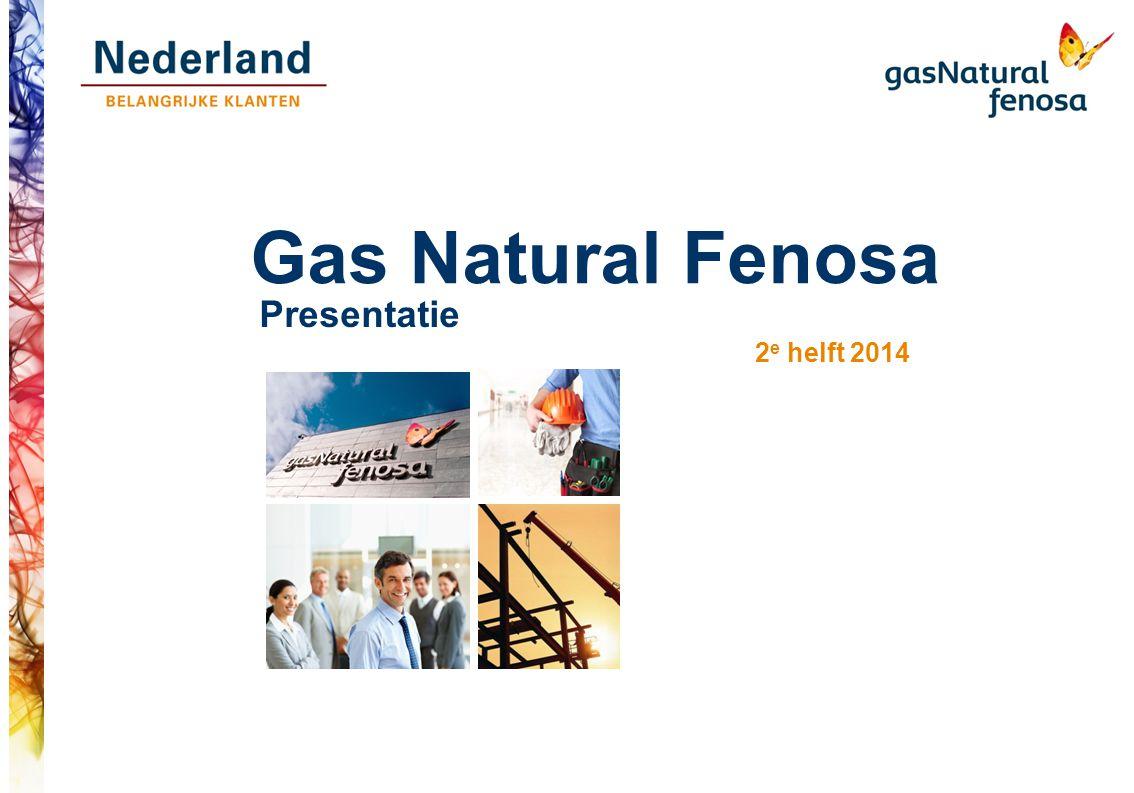 Gas Natural Fenosa Presentatie 2 e helft 2014