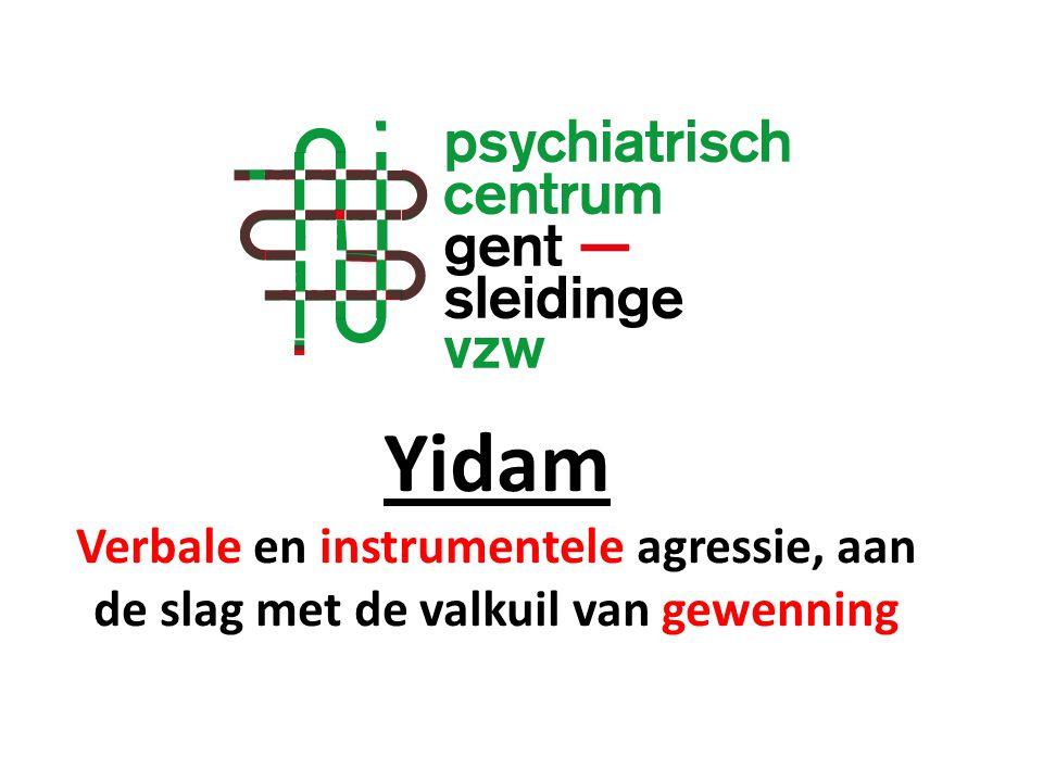 Yidam Verbale en instrumentele agressie, aan de slag met de valkuil van gewenning