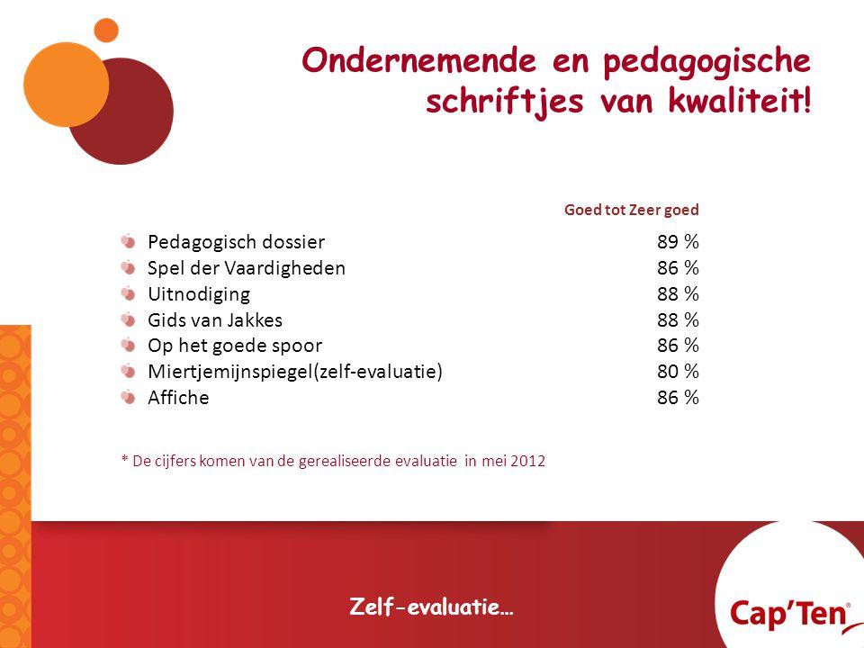 Ondernemende en pedagogische schriftjes van kwaliteit.