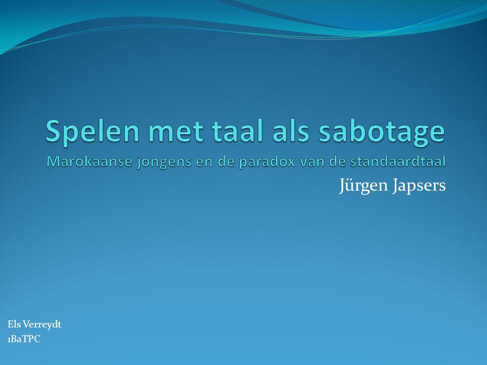 Jürgen Japsers Els Verreydt 1BaTPC