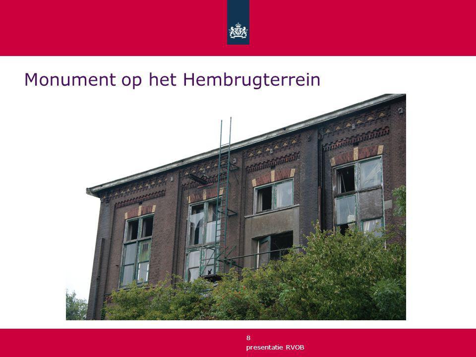presentatie RVOB 9 Inhoudelijk gecompliceerde gebiedsontwikkeling Sanering (onderzoek, waar gaat 't over) N.B.