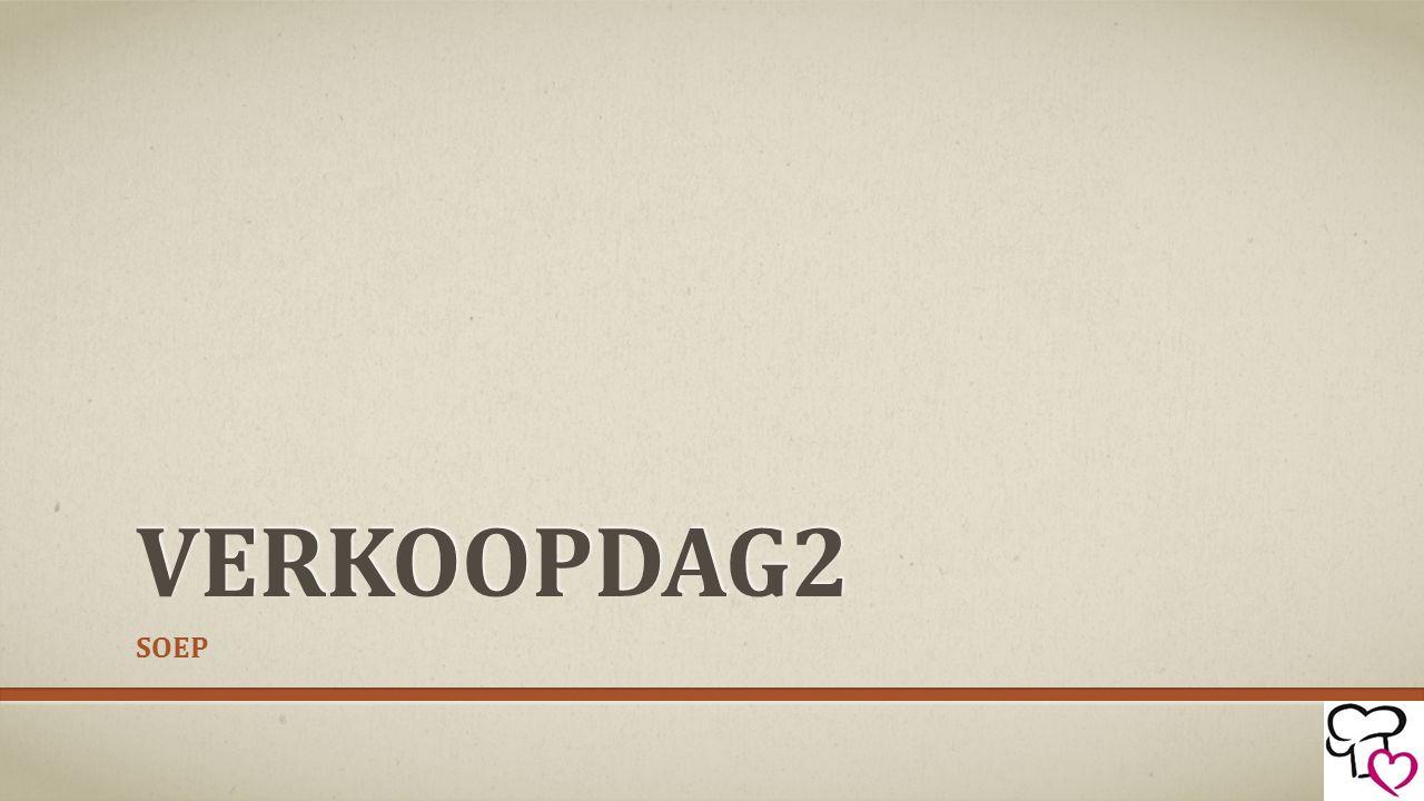 VERKOOPDAG2 SOEP