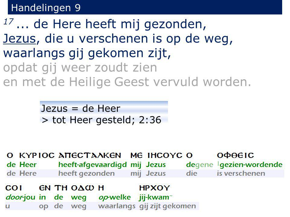 24 maar hun toeleg kwam ter kennis van Saulus.