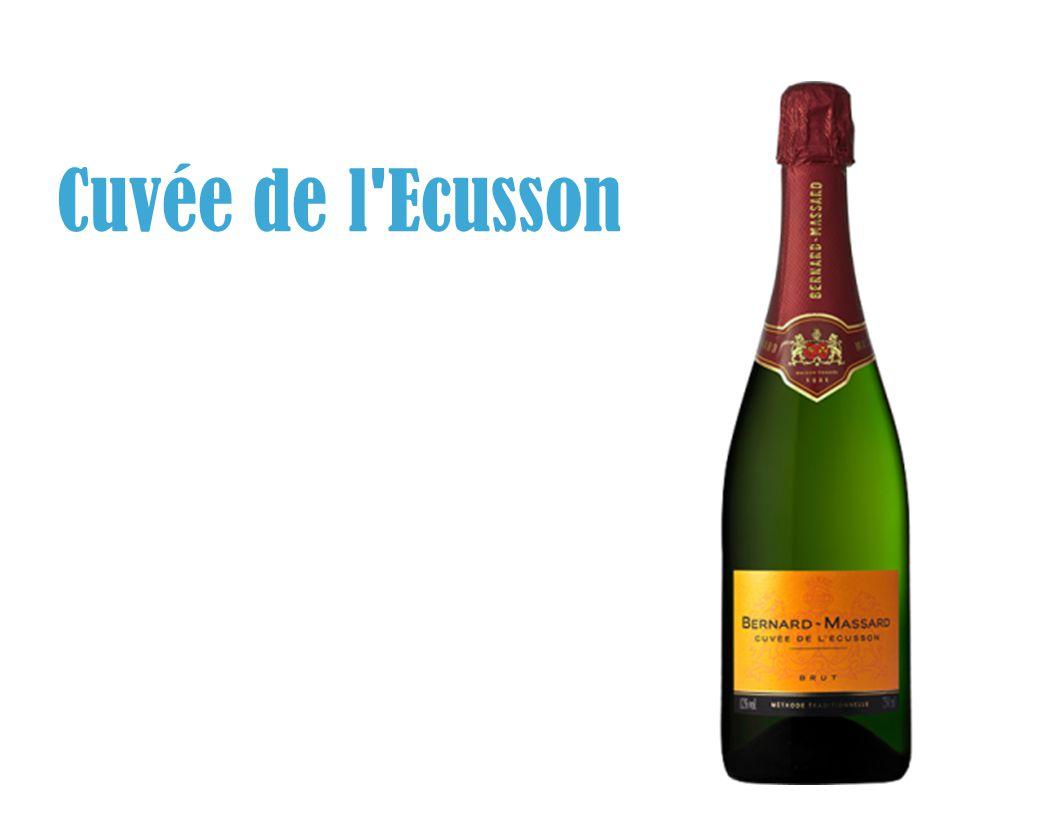 Cuvée de l'Ecusson, « Flag-Ship » van het merk sinds 1971 4 De Cuvée de l'Ecusson, bestemd voor de gastronomie in België, is de parel van Bernard-Massard Cuvée de l'Ecusson werd speciaal gecreëerd voor de 50ste verjaardag van het merk.
